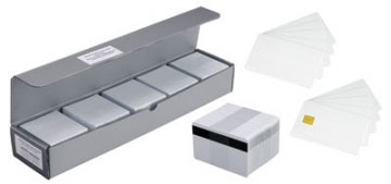 Zebra Plastic cards