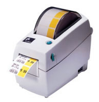 "Zebra LP 2824 Desktop 2.0"" Wide Direct Thermal Barcode Label Printer"