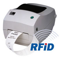 "Zebra R2844-Z 4.0"" Wide Desk-top UHF RFID Encoder Printer"