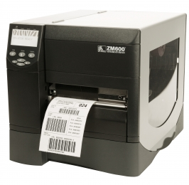 "Zebra ZM600 Industrial 7.0"" Wide Barcode Label Printers"