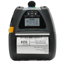 "Zebra QLn420  Mobile 4.0"" wide Label Printer"