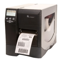 "Zebra RZ400 4.0"" Wide Industrial UHF RFID Encoder Printer"