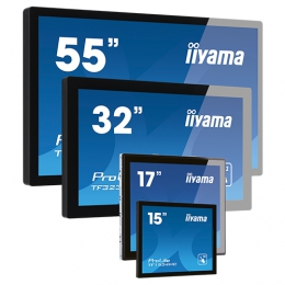iiyama ProLite TF2234MC-B3X, 54.6cm (21.5''), Projected Capacitive, 10 TP, Full HD, black