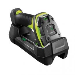 Zebra LI3678-ER, BT, 1D, ER, multi-IF, FIPS, kit (USB), black, green